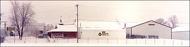 snow covered Joliet facility